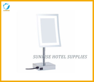 Free Standing Single Side LED Magnifying Mirror Vanity Mirror pictures & photos