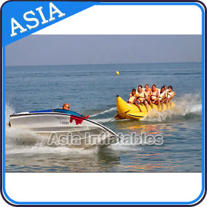 Double Seat Red Shark Inflatable Banana Boat, Inflatable Banana Boat pictures & photos