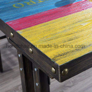 Favourable Colorful Iron Coffee Table in Foshan pictures & photos