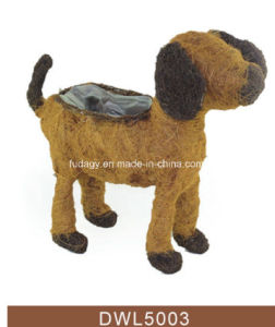Brushwood Salim Rattan Dog Planter for Garden pictures & photos