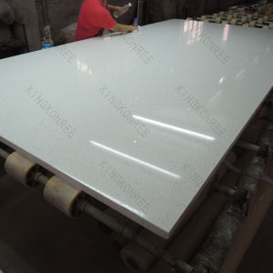 White Artificial Stone Material Quartz Slabs (170506) pictures & photos