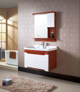 Rural Style Bathroom Furinture Wall-Mounted Bathroom Vanity pictures & photos