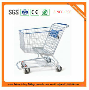 Shopping Supermarket Retail Trolley Carts 9277