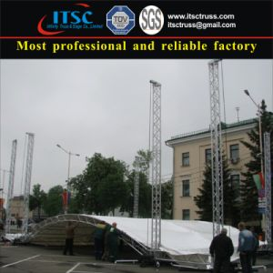 Aluminum Arched Truss Roof for Media pictures & photos