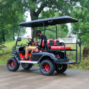 Customized 2+2 Seats Electric Hunting Golf Cart pictures & photos