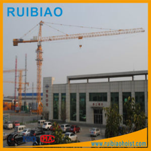 Construction Machinery Tower Crane Through ISO9001 pictures & photos