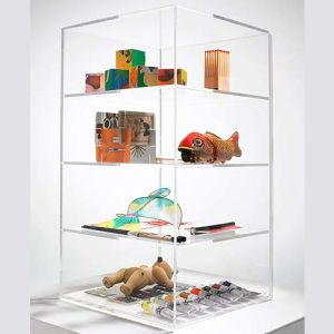 4 Tier Clear Acrylic Boxes Display for Toys pictures & photos