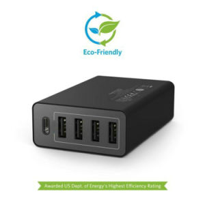 Type C 5 Ports 6A Multiple USB Home Charger pictures & photos