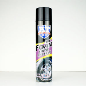 Tyre Shine Foam Cleaner Spray pictures & photos