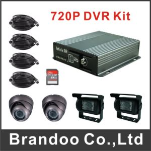 Newest Hot Selling 4CH Mini SD Card Mobile DVR for Private Cars pictures & photos