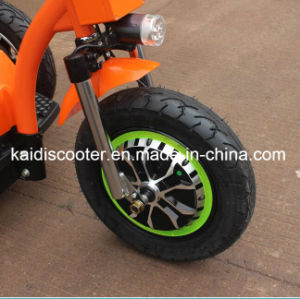 Ce Certificated Big Wheels Soft Electric Scooter Mobility Zappy Scooter with Rear Shock Absorption pictures & photos