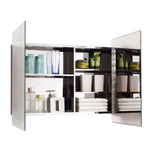 Competitive Price Large Space Stainless Steel Bathroom Mirror Cabinet pictures & photos