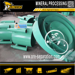 Placer Gold Ore Benefication Separation Spiral for Gold Concentration 5ll
