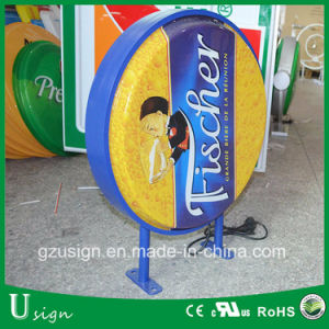Outdoor Advertising LED Acrylic Material Beer Light Box pictures & photos