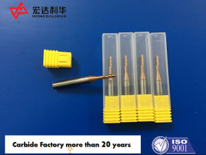 Tungsten Carbide End Mill with 5 and 6 Flute Customized pictures & photos