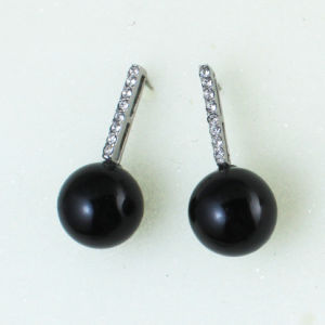 Bulk Price Black pendant Earrings Fashion Jewelry for Women pictures & photos