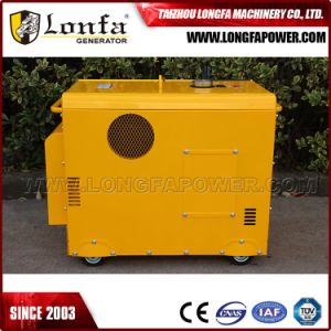 7kVA 7kw Air-Cooled Silent Type 100% Copper Wire Gasoline Petrol Generator pictures & photos