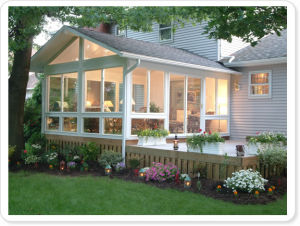Foshan Woodwin Best Quality Tempered Glass Aluminum Sunroom pictures & photos