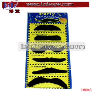 Party Holiday Decoration Party Costume Novelty Fake Mustache (H8043) pictures & photos