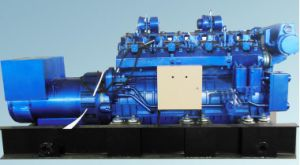 Natural Gas Generator 500kw with NPT Patent pictures & photos