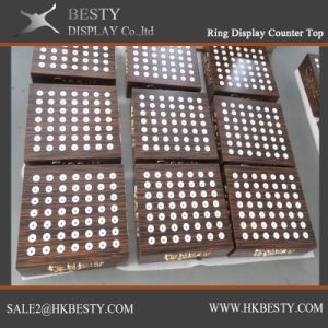 Customized Jewelry Ring Display Counter Top pictures & photos
