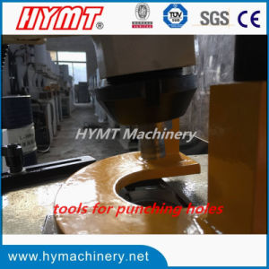 Q35Y-10 single cylinder hydraulic punching shearing bending machine pictures & photos