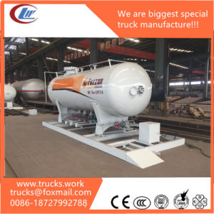 Chengliwei Produced High Quality 15000liters LPG Filling Station for Sale pictures & photos
