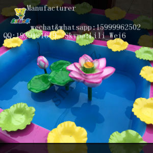 Indoor or Outdoor The Lotus Pond Fishing Game Fish Pond for Small Kids pictures & photos