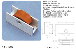 Window and Door Sash Pulley/ Roller (SA-109) pictures & photos