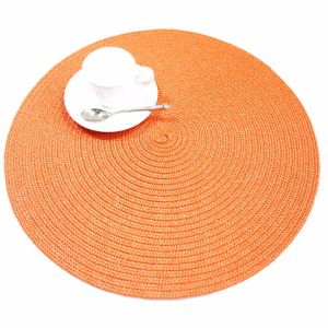 Fine Weave 100% Polyester Placemat for Tabletop pictures & photos