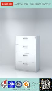 Steel Lateral Filing Cabinet with Japanese Galvanized Steel