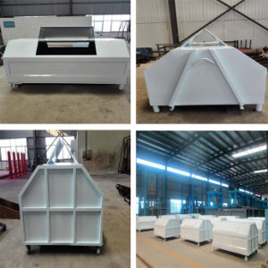 Hook Arm Type Mobile Garbage Can with Good Quality pictures & photos