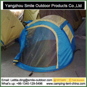 2 Person Cheap Warehouse Stock Folding Camping Pop up Tent pictures & photos