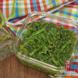 Frozen Hiyashi Wakame Salad for Japanese Cooking pictures & photos