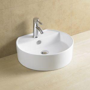 Round Good Quality Bathroom Porcelain Basin 8051 pictures & photos