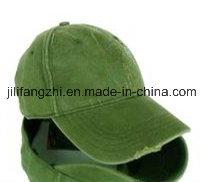 Plain Baseball Cap Blank Hat Solid Color Hook & Loop Adjustable