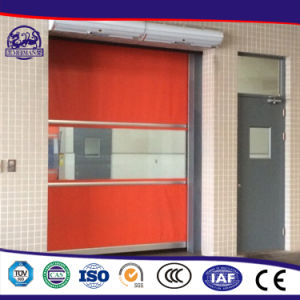 Outside Heat Preservation Effect and Keep Good Transparency and Lighting Effects Stacking PVC Door External Shutter Door pictures & photos