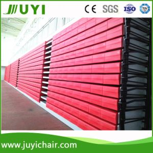 Jy-750 China Supplier Retractable Wholesale Plastic Portable Bleacher System Bench Bleacher pictures & photos