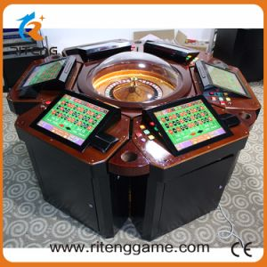 High-Profitable 8 Players Electric Roulette Casino Game Machine pictures & photos
