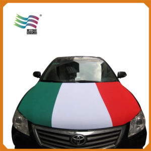 Spandex Fabric Flag Car Hood Cover Banner at Factory Price pictures & photos