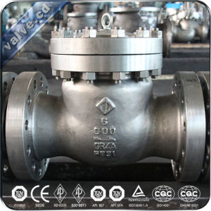 API Cast Steel Flanged Lift Check Valve pictures & photos