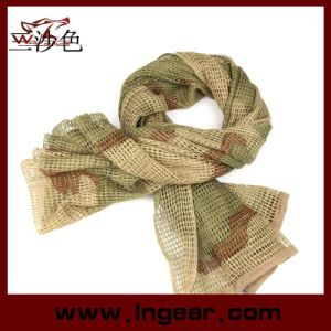 Tactical Mesh Net Camo Multi Purpose Scarf for Wargame, Sports & Other Outdoor Activities pictures & photos