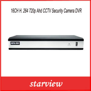 16CH H. 264 720p Ahd CCTV Security Camera DVR pictures & photos