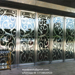 Hotel Furniture Laser Cut Stainless Steel Gate pictures & photos