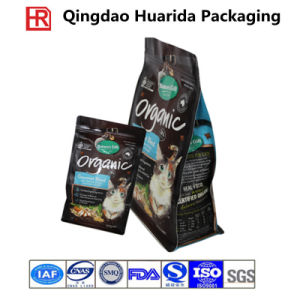 Customize Plastic Flat Bottom Pet Food Packaging Bag pictures & photos