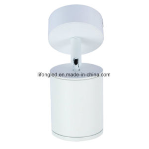 360 Degree Adjustable Round COB LED Downlight White or Black Finish AC100-240V pictures & photos