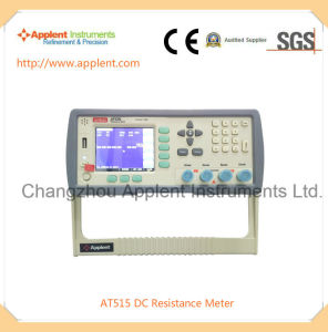 DC Resistance Meter with High Resolution and High Accuracy (AT515) pictures & photos