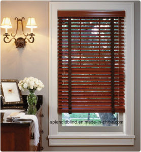 50mm Ladder Tape Wood Blind (SGD-W-518) pictures & photos