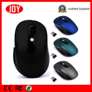 New Products 2.4G Optical 6D Wireless Mouse Jo27 Mini Mouse Factory in China pictures & photos