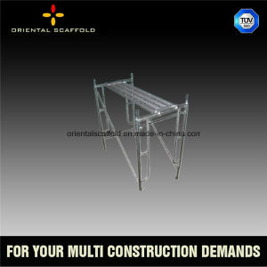 Good Quality Walk Through Scaffolding Frame for Construction Use pictures & photos